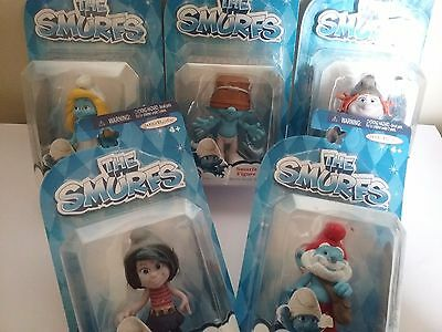 Smurfs Movie characters 2013