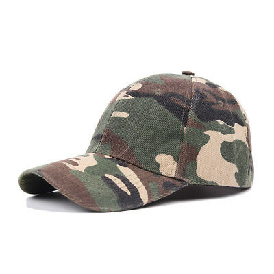 New Multicam Camo Outdoor Tactical Baseball Cap Military Hunting Hiking Hat