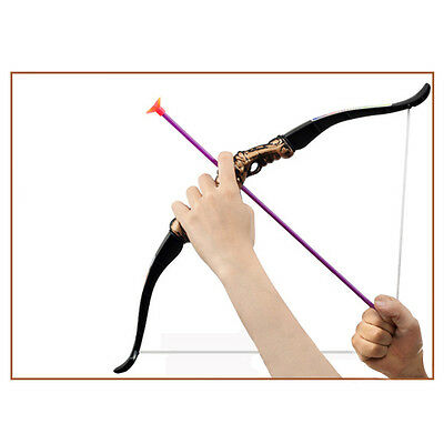 Cosplay Simulation Toys Bow and Arrow shooting Toys for Child's Outdoor Fun Spor