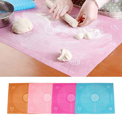 Non-Stick Silicone Baking Mat Pad Sheet Super Thick Baking Rolling Dough Newest