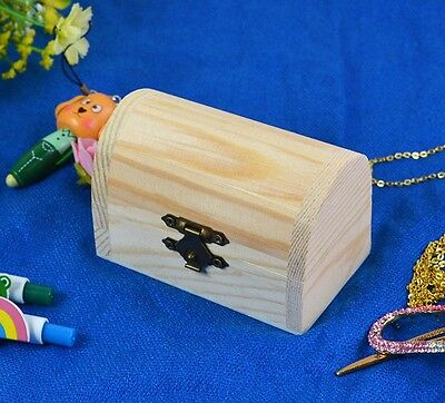 Decoupage main Trinket en bois Bijoux Keepsake cadeau Nom Box Storage Card