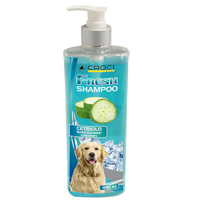 Croci Shampoo Fresh Refrigerante Cetriolo 430 Ml.