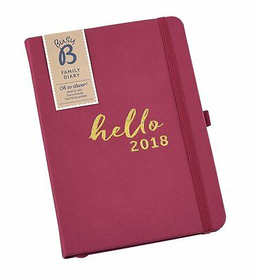 Busy B Family Diary 2018 - Friends Gift Idea - 2018 Family diary