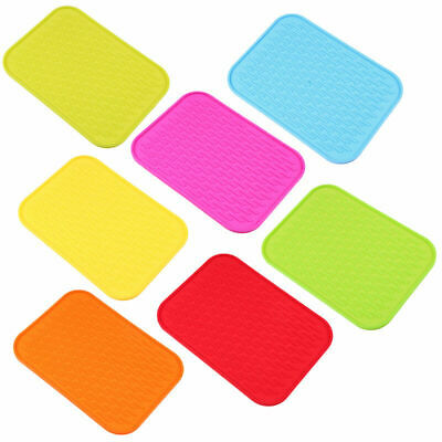 Silicone Pot Mat Holder Coaster Table Dish Pad Heat Resistant Cushion Placemat