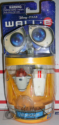 Disney Pixar WALL-E GOPHER With Transport Bot Figure Thinkway New