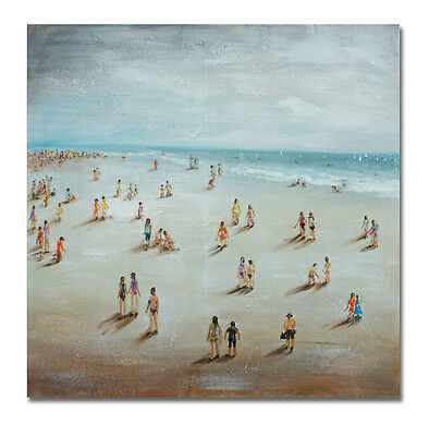 Beach Holiday | Hand Painted | Contemporary Painting | Canvas | B103
