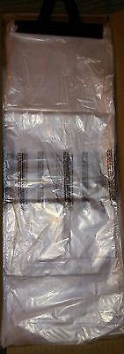 2000 7×19 Plastic clear Newspaper Magazine Pet Waste bags priority mail shipping
