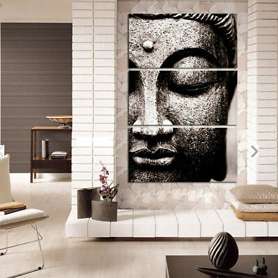 Modern Wall Hanging Canvas Picture Art Print Painting Home Decor Buddha B-S