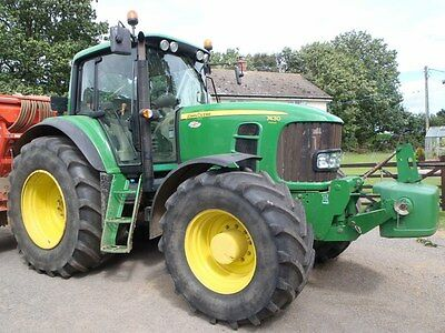 John Deere 6620 Power Quad 740A Fore End Loader Tractor For Sale