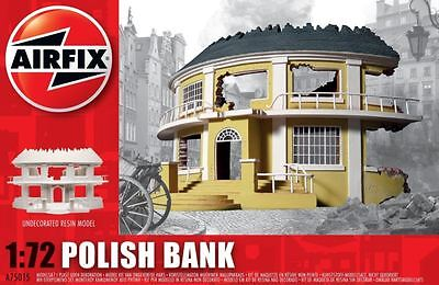 New Airfix Polish Bank 1/72 Model Kit Fighter Builder Armour Defense Military
