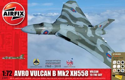 New Airfix Vulcan In The Sky Gift Set 1:72 Model Kit Armour War Defense Military