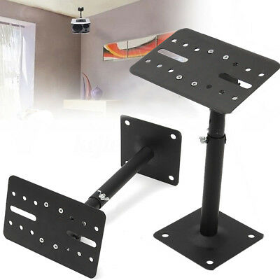2pcs Steel Wall Ceiling Mount Speaker Brackets for HIFI Surround Sound Speaker