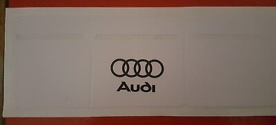 Car Van Road Tax, Insurance, NCT Disc Holder New Wallet Permit black for Audi