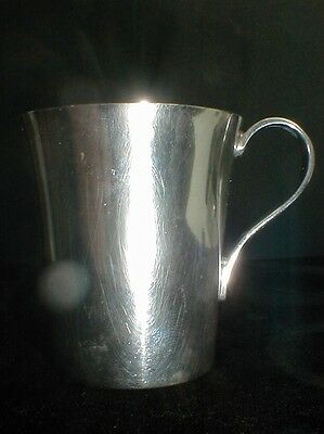 Tiffany & Co. Sterling Silver Baby Cup #22499 - J.A.S. Mono