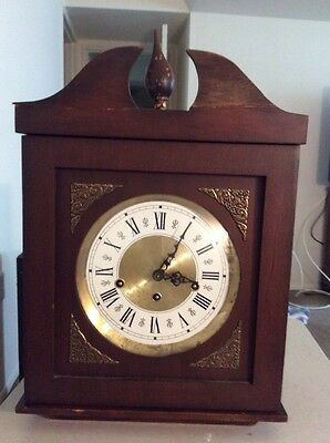Grandmother Clock/Working/Newer Movement/Frank Hermle/351-050/Made In Germany