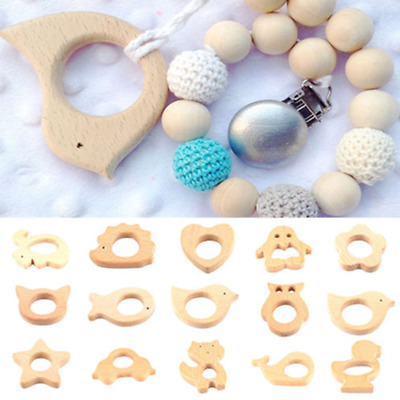 Ring Baby Teether Sensory Toys Nursing Teether Teething Holder Shower Gift