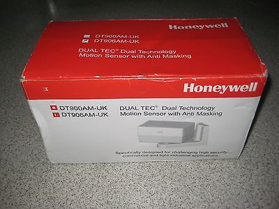 Honeywell Long Range Dual Tec Detector Motion Sensor Anti Masking DT906AM-UK