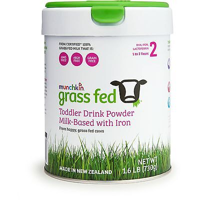 Brand New Munchkin Grass Fed Toddler Drink Powder 1.6 lbs 25.75 oz 1-3 Years
