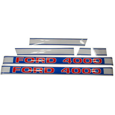 Decal Set for Ford Tractor 4000 Decals