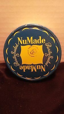 "1940s-50s ""NuMade Purity Sealed "" Advertising Lid 8/10 Fits Canning Jars(nm1)"