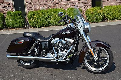 "2014 Harley-Davidson Dyna  2014 Harley Davidson Dyna Switchback FLD-103 Screamin"" Eagle Stage 1 Vance Pipe"