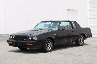 1987 Buick Grand National Base Coupe 2-Door 1987 Buick Grand National Black with Only 371 Original Miles / Collect Car