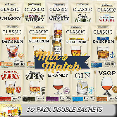 Still Spirits CLASSIC ESSENCE RANGE MIX 'n MATCH [10 DOUBLE PACKS 2.25L EACH]