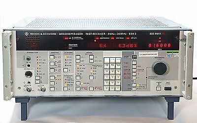 Polarad -ROHDE & SCHWARZ  ESH 3 Test Receiver 335.8017.56 9kHz to 30 MHz