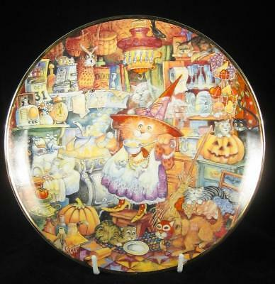 Franklin Mint 'Scaredy Cats' Limited Edition Collector Plate