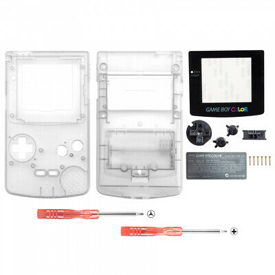 Full Housing Shell Replacement Part for Nintendo Game Boy Color GBC Transparent