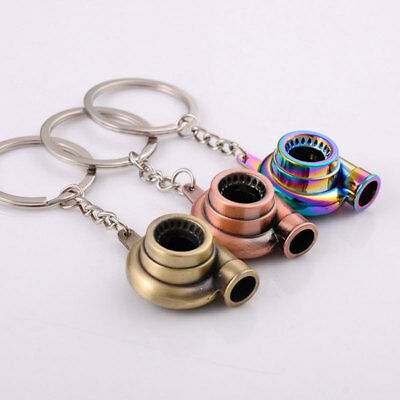 Electric Turbo Lighter keyring keychain has LED light and BOV sound Anti Stress