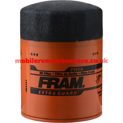 American Motorhome RV Oil Filter Ford & Chrysler PH8A
