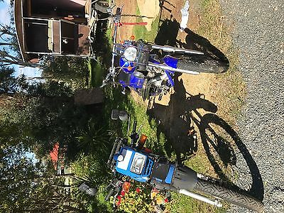 Two Motorbikes for Sale One 250 cc chopper and One Road trail 175cc.
