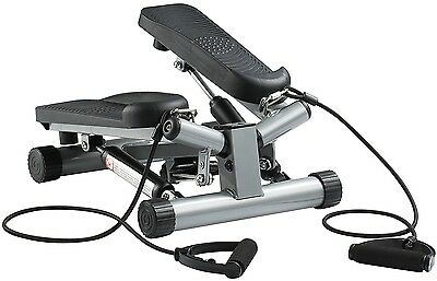 Ultrasport Swing Stepper Including Resistance Cords / Home Trainer Stepper With