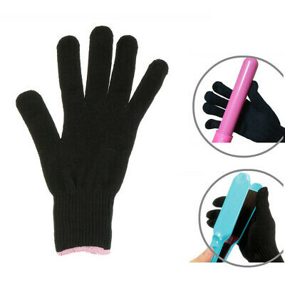 1Pair Heat Proof Resistant Protective Gloves for Hair Styling Curling Iron