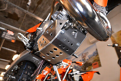 2018 2017 KTM skid plate engine guard  EXC 2T XCW XC 250 300 SUMP GUARD TPI
