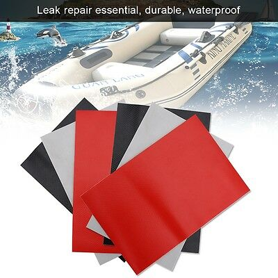 3pcs PVC Repair Patches Kit Set Accessory for Inflatable Raft Boat Canoe Kayak