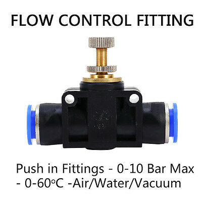 Push In Fittings Air Water Pneumatic Joiner 8 Types Hose Tube Pipe Connector Hot