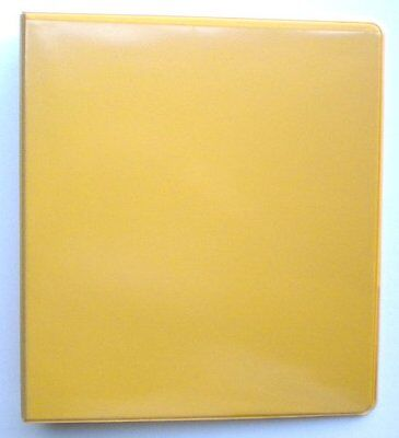 """Yellow 3 Ring 1"""" View Binder 8.5 X 11 - Pack Of 6"""