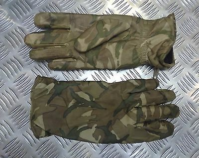 Genuine British Military MTP Multicam Leather Combat Gloves MK2 MVP Odd Shades