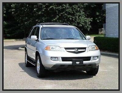 2005 Acura MDX Base Sport Utility 4-Door 05 Acura MDX Third row seat 4x4 Clean Fax Leather Moonroof Heated seats