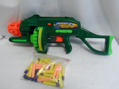 Buzz Bee Toys Air Blasters Motorized Automatic Tommy 20 Tested Works (9734-2B)