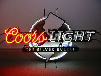 Coors Light Nj   Huge     Neon Sign