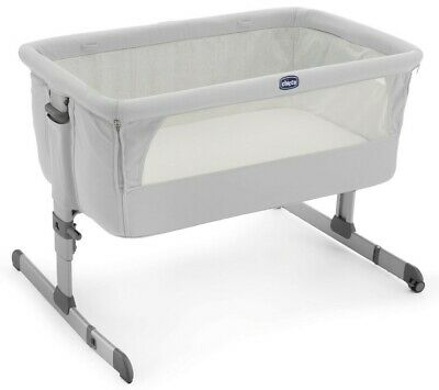 NEW Chicco Next2Me Co - Sleeping Crib - Silver