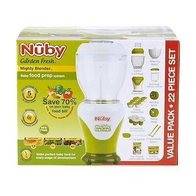 NUBY Mighty Blender Baby Food Prep System