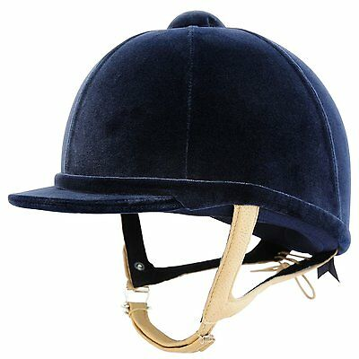 "Charles Owen H2000 Riding Hat NAVY size 6 1/2"" / 53cm PAS015 Safety *SALE PRICE*"