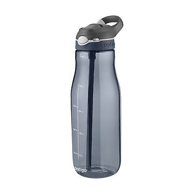 Contigo AUTOSPOUT Ashland 32oz Plastic Water Bottle with Flip Straw Smoke Grey