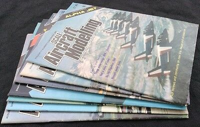 Lot of Scale Aircraft Modelling Magazine for Model Aircraft Builders  X 7