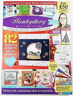 Hunkydory Design Collection Issue 2 with FREE Christmas Craft Kit