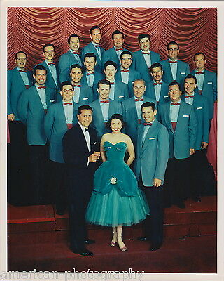 LAWRENCE WELK AND HIS CHAMPAGNE MUSIC - Original Photograph * Alice Lon & Band